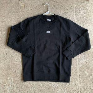 Kith Black Long Sleeve Crewneck Sweater